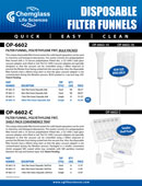 Disposable Filter Funnels