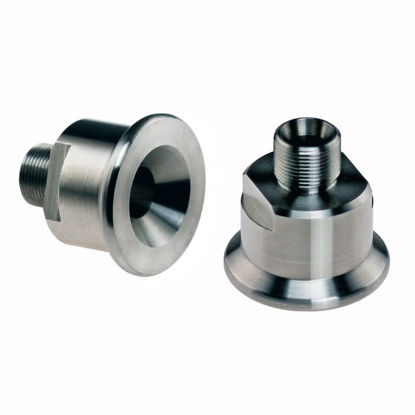 ADAPTERS, BEADED PIPE, STAINLESS STEEL