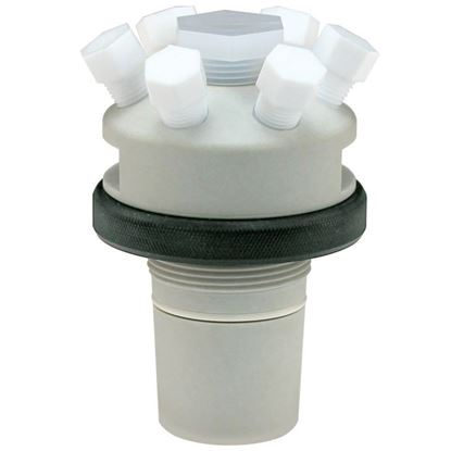 ADAPTERS, MULTIPORT, PTFE