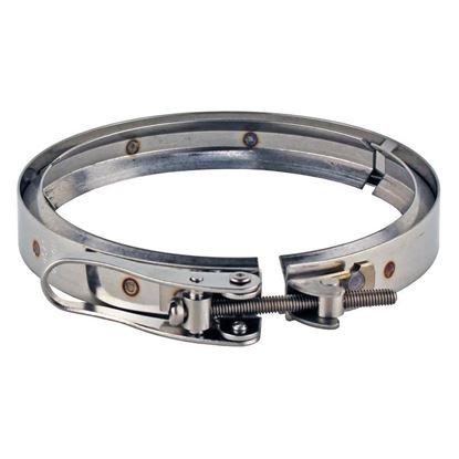 CLAMPS FOR DURAN® REACTION FLANGES AND LIDS