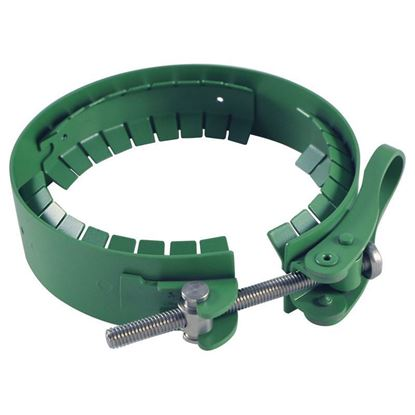 STAINLESS STEEL CLAMPS FOR DURAN® REACTION FLANGES AND LIDS, PTFE COATED