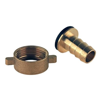 HOSE CONNECTIONS G3/4 TO 1/2 HOSE, HUBER CIRCULATOR FITTINGS