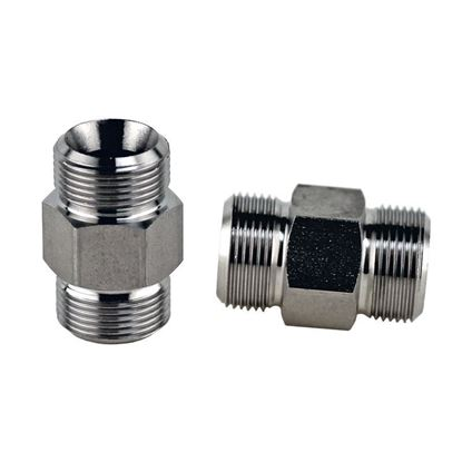 ADAPTERS, M16 X 1 MALE THREAD TO M16 X 1 MALE THREAD, HUBER CIRCULATOR FITTINGS, STAINLESS STEEL