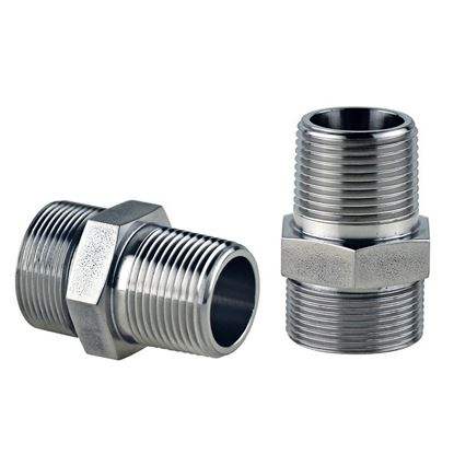 ADAPTERS, STAINLESS STEEL, M30 MALE TO 3/4 MALE NPT, HUBER CIRCULATOR FITTINGS