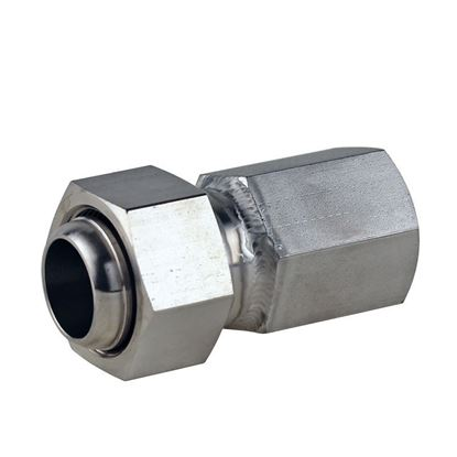 ADAPTERS, STAINLESS STEEL, M30 FEMALE TO 3/4 FEMALE NPT, HEX STYLE, HUBER CIRCULATOR FITTINGS