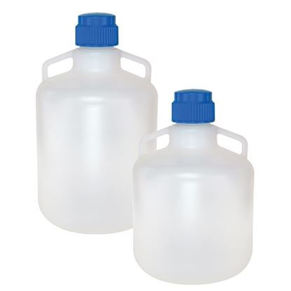 CARBOYS, POLYPROPYLENE, WITH HANDLES, AUTOCLAVABLE, 83MM CLOSURES