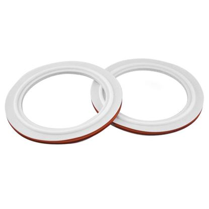 GASKETS, ENVELOPE STYLE, PTFE, SILICONE CORE