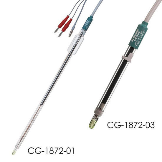 pH ELECTRODES FOR CHEMGLASS REACTORS
