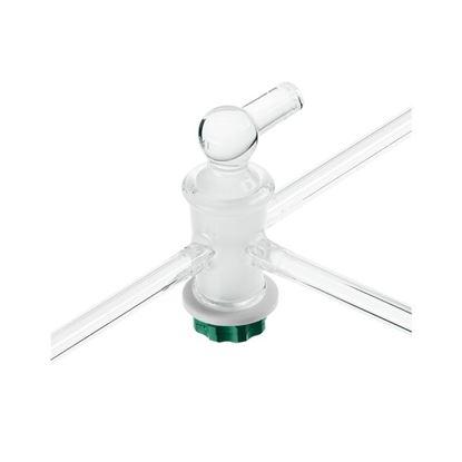 STOPCOCKS, T-BORE, PRESSURE, GLASS PLUGS