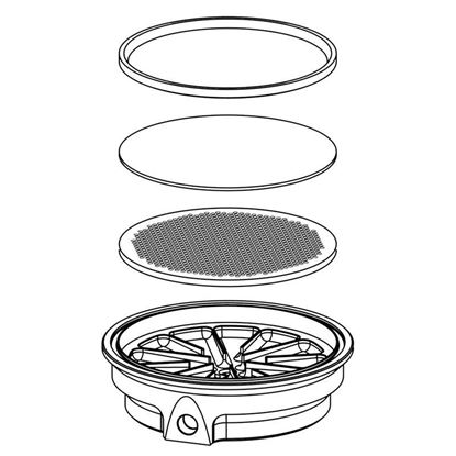 FILTER REACTOR SUPPORT BASES