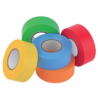 TAPE, LABELING, GENERAL PURPOSE, 1 INCH WIDE x 500 INCH LONG ROLLS