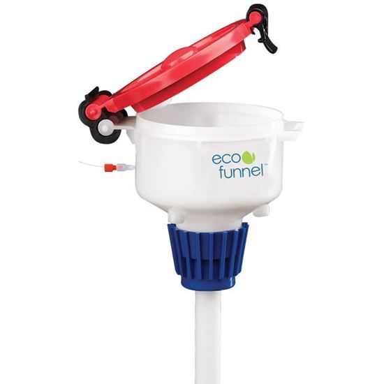 ECO FUNNELS, 4 INCH, HPLC WASTE HOOK ADAPTERS