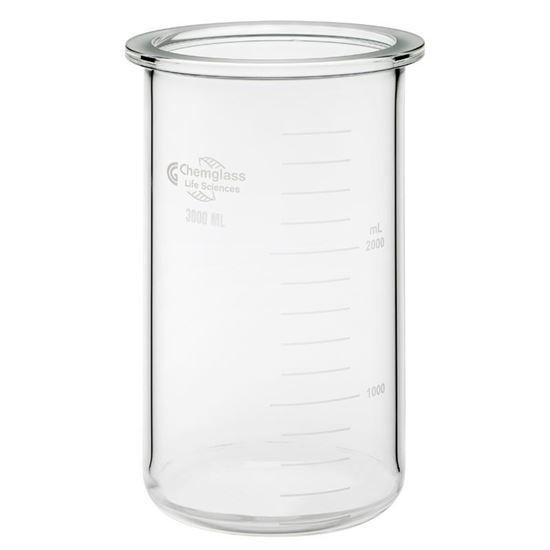UNJACKETED GLASS BIOREACTOR VESSELS