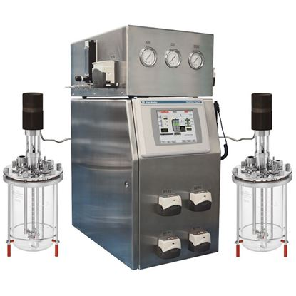 CELLTROL III, DUAL BIO REACTOR CONTROL SYSTEMS WITH MASS FLOW