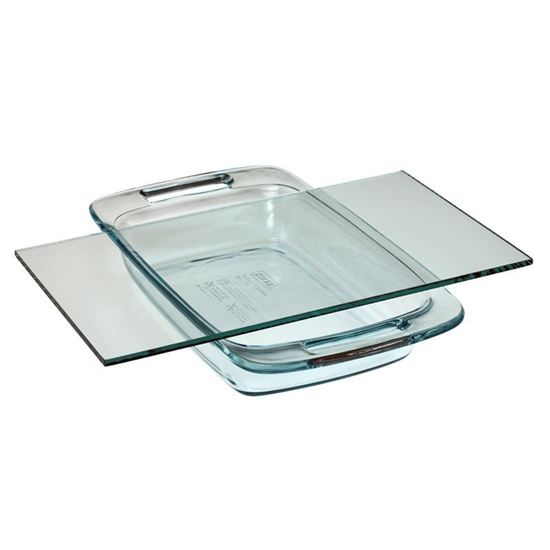 GLASS DISHES AND PLATES, BLOTTING
