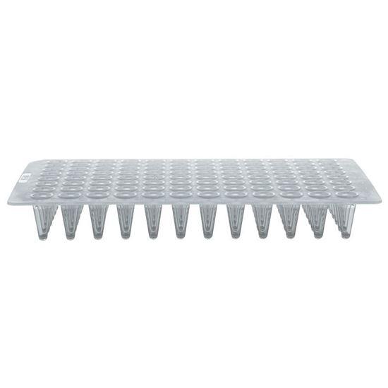 0.1ML 96 WELL PCR PLATES, NO SKIRTS, NATURAL