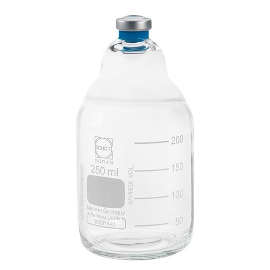 BOTTLES, ANAEROBIC, MEDIA, CLEAR
