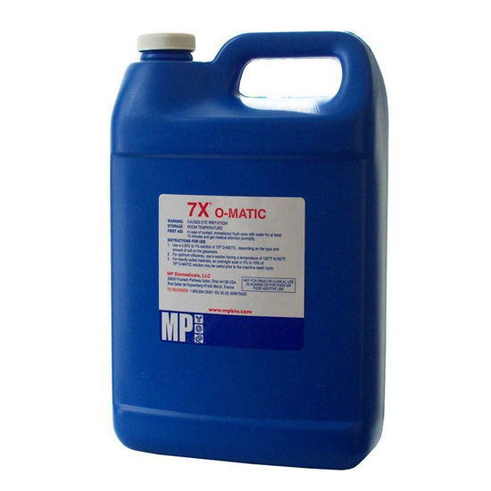 CLS-4752-M7X; DETERGENT, 7X-O-MATIC CLEANING SOLUTION