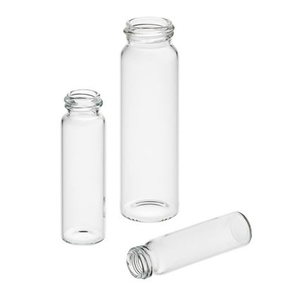 SAMPLE VIALS ONLY, CLEAR BOROSILICATE