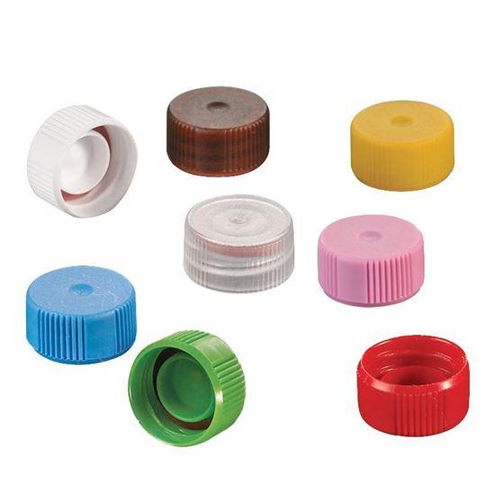 OTUBE FLAT TOP CAPS, CLOSURES WITH O-RING, W/O LOOP