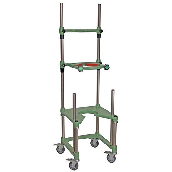 REACTOR SUPPORT FRAMES, MOBILE, JACKETED OR UNJACKETED, 10L THRU 20L