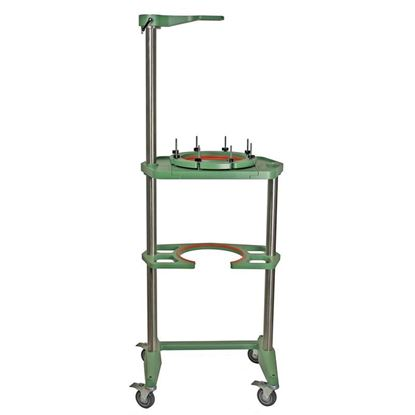 REACTOR SUPPORT FRAMES, MOBILE, JACKETED OR UNJACKETED, 30L THRU 50L
