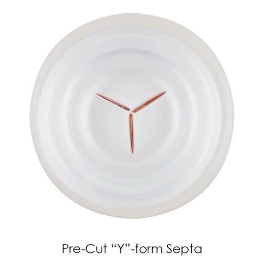 11MM CHEM SNAP CAPS WITH PRE-CUT SEPTA, , SEPTUM