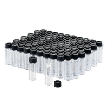 KITS, PREASSEMBLED LARGE OPENING SCREW THREAD VIALS AND CLOSURES