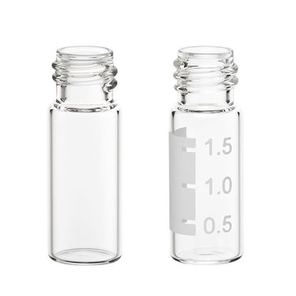 LARGE OPENING SCREW THREAD VIAL, CLEAR