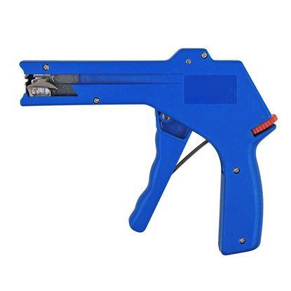 CABLE TIE GUN, PLASTIC, ADJUSTABLE TENSION, ZIP TIE