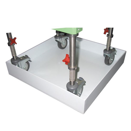 SPILL TRAYS, WELDED SEAMS