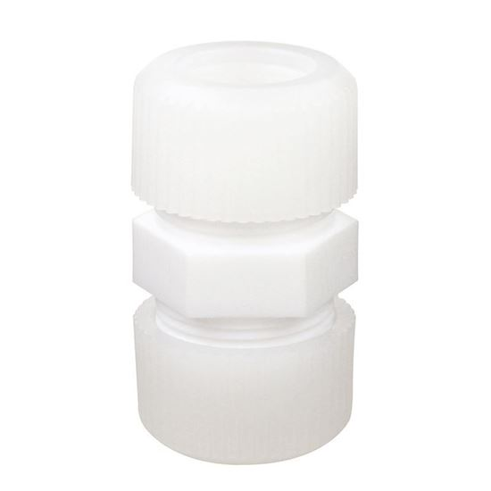 """CG-1975-100; COMPRESSION FITTINGS, PTFE, 1"""""""