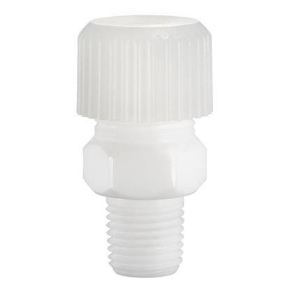 ADAPTERS, TFE COMPRESSION, NPT MALE