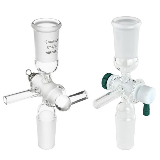 ADAPTERS, FLUSHING, AIRFREE, SCHLENK