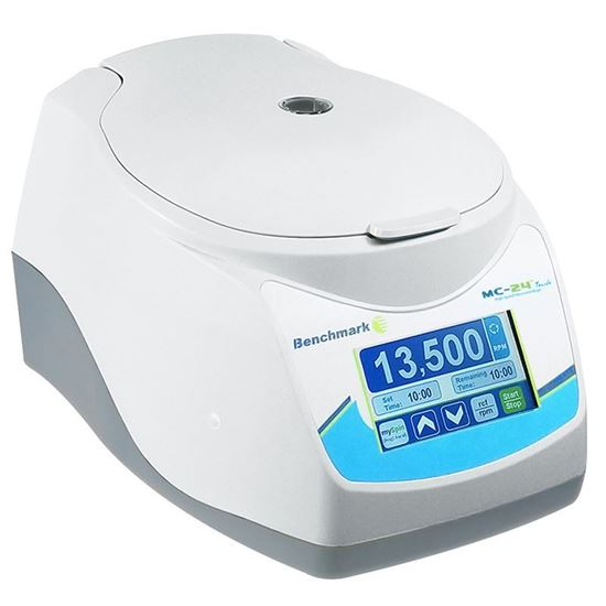MICROCENTRIFUGE, TOUCH SCREEN, HIGH SPEED, 24 PLACE COMBI-ROTOR, MC-24 TOUCH