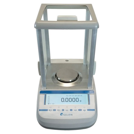 ANALYTICAL BALANCE, TOUCH SCREEN, INTERNAL CALIBRATION, ACCURIS DX