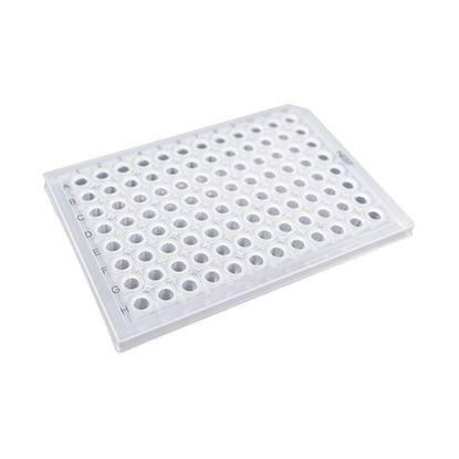 0.2ML 96 WELL PCR PLATE, SEMI-SKIRT, CLEAR, A12 NOTCH, NEST