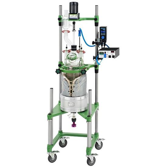 15L PROCESS REACTORS, CYLINDRICAL, UNJACKETED, ELECTRIC OR AIR MOTOR
