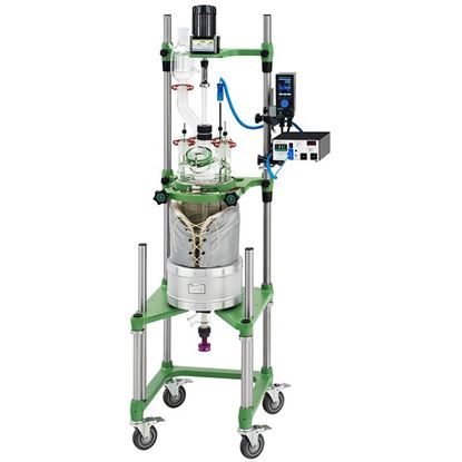 20L PROCESS REACTORS, CYLINDRICAL, UNJACKETED, ELECTRIC OR AIR MOTOR