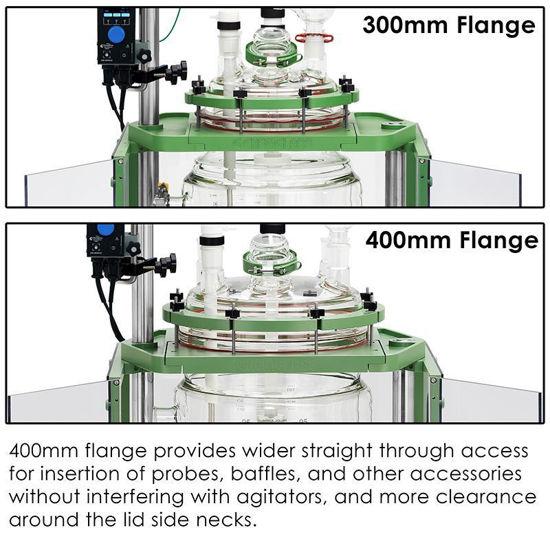 300mm FLANGE AND 400mm FLANGE COMPARISONS