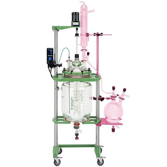 DISTILLATION KITS FOR 30/50L PROCESS REACTOR SYSTEMS, SIDE SHELVES