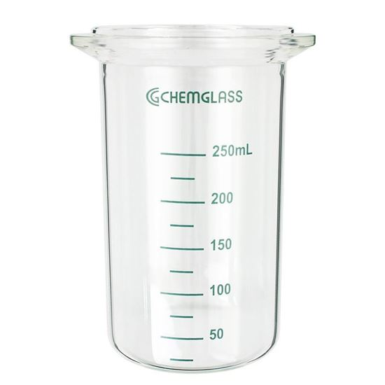 REACTION VESSELS, DISH BOTTOMS, 250ML, EQUIVALENT TO METTLER OPTIMAX