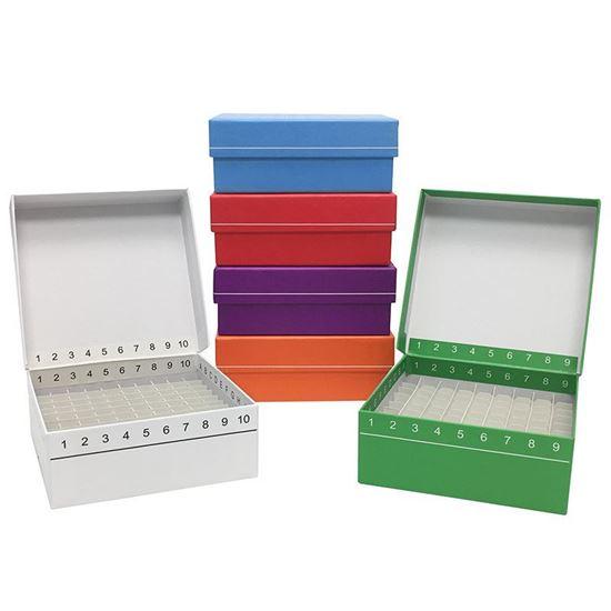 FREEZER BOXES, HINGED, FLIPTOP, STORAGE, CARDBOARD