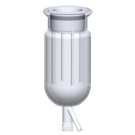 PTFE BAFFLE, REACTION VESSEL, BENCHTOP, INSERTABLE