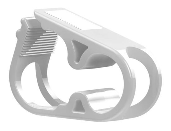 FLOW CONTROL TUBE CLAMPS, 0.45 INCH OD